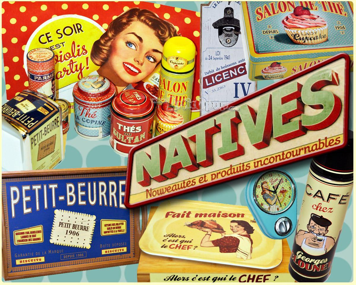 Natives deco vintage - Objet deco vintage pas cher ...